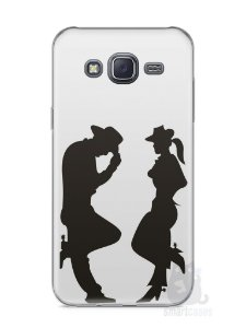 Capa Capinha Samsung J5 Cowboy e Cowgirl