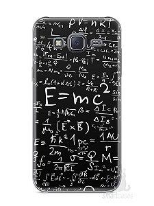 Capa Capinha Samsung J5 Teoria da Relatividade Einstein