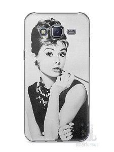 Capa Capinha Samsung J5 Audrey Hepburn #1