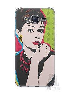 Capa Capinha Samsung J5 Audrey Hepburn #3