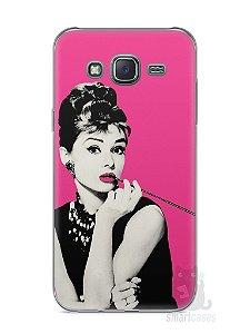 Capa Capinha Samsung J5 Audrey Hepburn #4