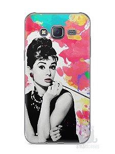 Capa Capinha Samsung J5 Audrey Hepburn #5
