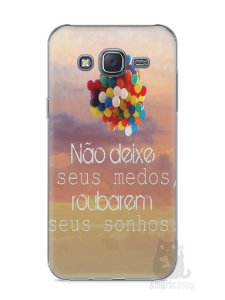 Capa Capinha Samsung J5 Frase #3