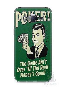 Capa Capinha Samsung J5 Poker #2