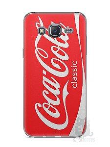 Capa Capinha Samsung J5 Coca-Cola