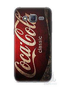 Capa Capinha Samsung J5 Coca-Cola Classic