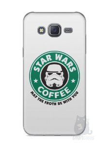 Capa Capinha Samsung J5 Star Wars Coffee