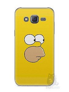 Capa Capinha Samsung J5 Homer Simpson Face