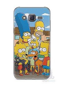 Capa Capinha Samsung J5 Família Simpsons #1