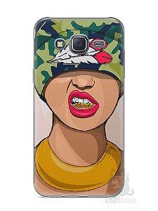 Capa Capinha Samsung J5 Garota Swag