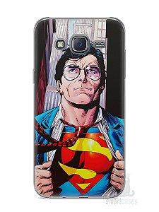 Capa Capinha Samsung J5 Super Homem #1