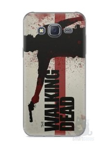 Capa Capinha Samsung J5 The Walking Dead #1