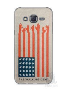 Capa Capinha Samsung J5 The Walking Dead #2