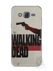 Capa Capinha Samsung J5 The Walking Dead #3
