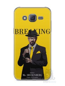 Capa Capinha Samsung J5 Breaking Bad #2