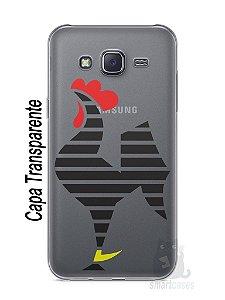 Capa Capinha Samsung J5 Time Atlético Mineiro Galo #5