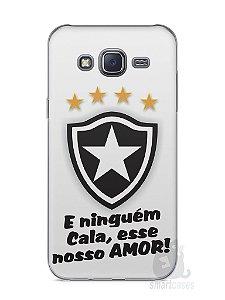 Capa Capinha Samsung J5 Time Botafogo #2