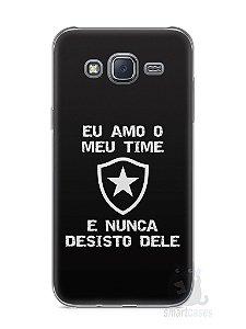 Capa Capinha Samsung J5 Time Botafogo #3