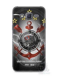 Capa Capinha Samsung J5 Time Corinthians #5