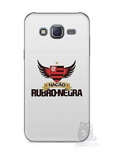 Capa Capinha Samsung J5 Time Flamengo #3