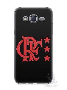 Capa Capinha Samsung J5 Time Flamengo #5