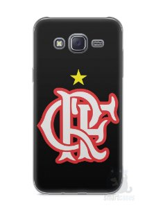 Capa Capinha Samsung J5 Time Flamengo #10