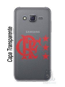 Capa Capinha Samsung J5 Time Flamengo #7