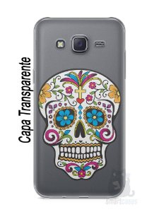 Capa Capinha Samsung J5 Caveira Mexicana