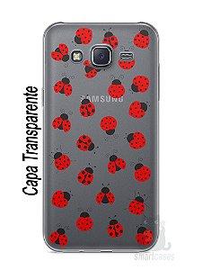 Capa Capinha Samsung J5 Joaninhas #1