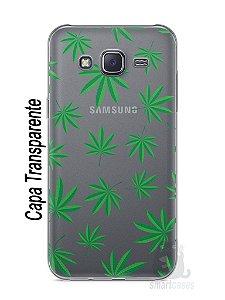 Capa Capinha Samsung J5 Maconha #1