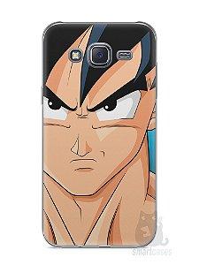 Capa Capinha Samsung J5 Dragon Ball Z Goku