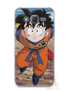 Capa Capinha Samsung J5 Dragon Ball Z Gohan Pequeno