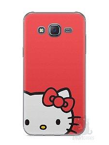 Capa Capinha Samsung J5 Hello Kitty