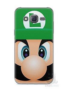 Capa Capinha Samsung J5 Luigi Irmão do Super Mario