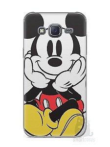 Capa Capinha Samsung J5 Mickey Mouse #2