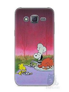 Capa Capinha Samsung J5 Snoopy #15