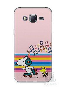 Capa Capinha Samsung J5 Snoopy #17