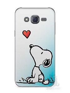 Capa Capinha Samsung J5 Snoopy #23