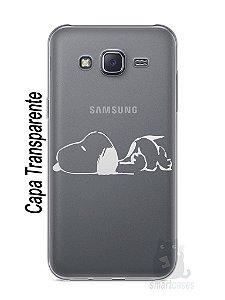 Capa Capinha Samsung J5 Snoopy #30