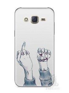 Capa Capinha Samsung J7 Fuck You