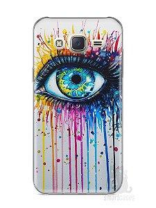 Capa Capinha Samsung J7 Olho Pintura