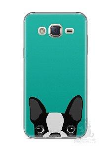 Capa Capinha Samsung J7 Cachorro Bulldog Francês #3