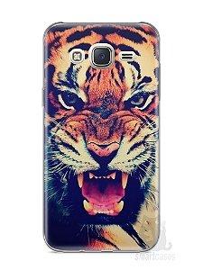 Capa Capinha Samsung J7 Tigre Feroz