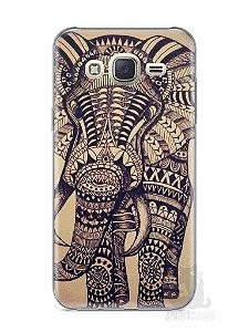 Capa Capinha Samsung J7 Elefante Tribal