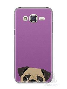Capa Capinha Samsung J7 Cachorro Pug