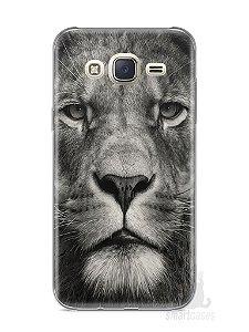 Capa Capinha Samsung J7 Leão Face