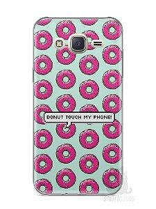 Capa Capinha Samsung J7 Donut Touch My Phone