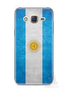 Capa Capinha Samsung J7 Bandeira da Argentina #2