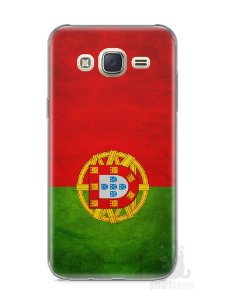 Capa Capinha Samsung J7 Bandeira de Portugal