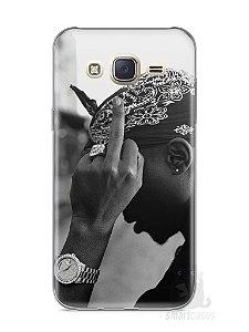 Capa Capinha Samsung J7 Tupac Shakur #2